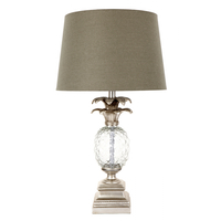 Langley Table Lamp - Silver