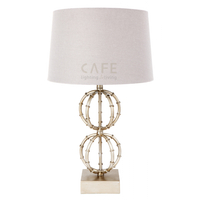 Lela Table Lamp - Silver