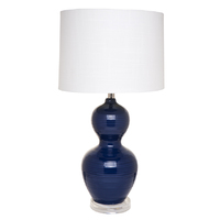 Bronte Table Lamp - Blue