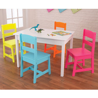 Kidkraft Highlighter Table and 4 Chairs