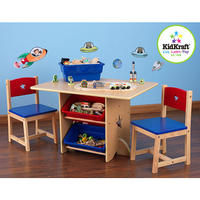 Star Table & Chair Set with Primary Bins