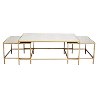 Cocktail Coffee Table - 3pc