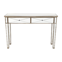 Apolo Console Table - Antique Gold
