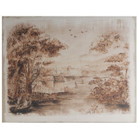 Cottage Sepia Wall Art