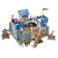Excalibur Blue Castle (+ FREE 2 figurines) bundle