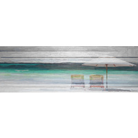 By the Beach Canvas Wall Art