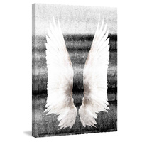 Wings on my Back Canvas Wall Art