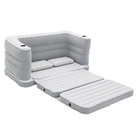Bestway Inflatable Sofa Bed Grey