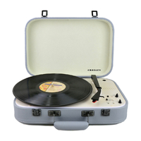 Crosley Coupe - Bluetooth Turntable with Pitch control - Grey