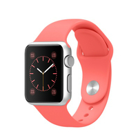 Apple Watch Sport MJ3R2 42mm Space Grey Aluminum with Pink Sport Band