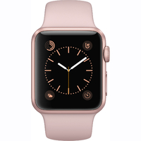 Apple Watch Series 1 - 38mm Rose Gold Aluminium Case with Pink Sand Sport Band - MNNH2
