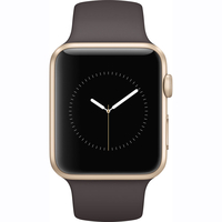 Apple Watch Series 1 - 42mm Gold Aluminium Case with Cocoa Sport Band - MNNN2