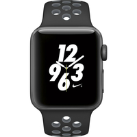 Apple Watch Nike+ 38mm Space Gray Aluminum Case with Blk/Cool Grey Nike Sport Band MNYX2