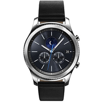 Samsung Gear S3 SM-R770 Classic Bluetooth Smart Watch - Black Leather