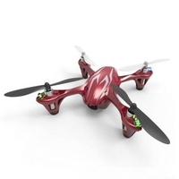 Hubsan X4 H107C 2.4GHZ 4 Channel Video Camera Helicopter with Transmitter (RTF) Red + Silver