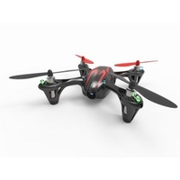 Hubsan X4 H107C 2.4GHZ 4 Channel Video Camera Helicopter with Transmitter (RTF) Black + Red