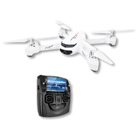 Hubsan X4 H502S FPV Brushless 2.4 GHZ/5.8GHZ RC 720P Camera Quadcopter with Transmitter (RTF) - White