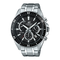 Casio EDIFICE Chronograph Watch EF-552D-1AV - Black