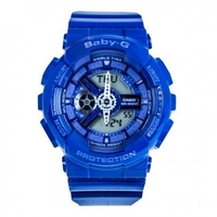 Casio Baby-G Standard Analog-Digital Watch BA-110BC-2A - Blue