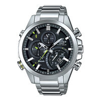 Casio EDIFICE Smartphone Link Bluetooth Dual World Time Watch (EQB-500D-1A) - Black
