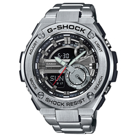 Casio G-SHOCK G-STEEL Analog-Digital Watch GST-210D-1A - Silver