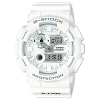 Casio G-SHOCK G-LIDE 200M Water Resistance Analog-Digital Watch GAX-100A-7A - White