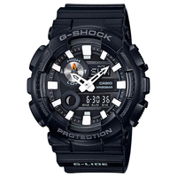 Casio G-SHOCK G-LIDE 200M Water Resistance Analog-Digital Watch GAX-100B-1A - Black