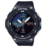 Casio WSD-F20-BK Protrek Smart Outdoor Watch with Android Wear 2.0 - Black