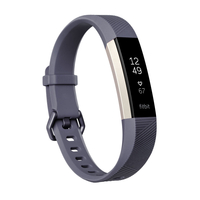 Fitbit Alta HR Fitness Wrist Band - Large Blue/Grey