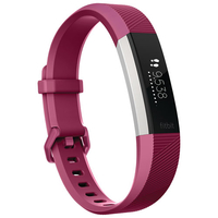 Fitbit Alta HR Fitness Wrist Band - Large Fuchsia