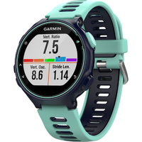 Garmin Forerunner 735XT GPS Running Watch with built-in Heart Rate Monitors - Midnight Blue/ Frost Blue