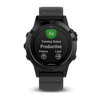 Garmin Fenix 5 Black Sapphire with Black Band Multisport GPS Watch Only