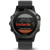 Garmin Fenix 5 Slate Gray with Black Band Multisport GPS Watch Only