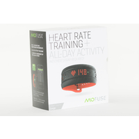 Mio Fuse Heart Rate Activity Tracker - Crimson (Large)