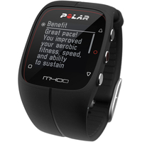Polar M400 GPS Watch With Heart Rate Monitor (HRM) - Black
