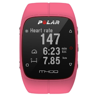 Polar M400 GPS Watch With Heart Rate Monitor (HRM) - Pink