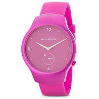Runtastic Moment Fun - Activity and Sleep Tracking Watch (RUNMOFU3) - Raspberry (Pink)