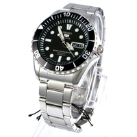 Seiko Men's Five Sports Stainless Steel Water 100M Resist Automatic Watch SNZF17J1