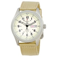 Seiko Men's 5 Sports Desert Military Automatic Men's SNZG07J1