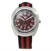 Seiko 5 Sports 100M Retro Automatic Limited Edition Watch Red SRPA87K1