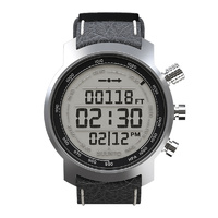 Suunto Elementum Terra Black Leather Sports Watch (SS014523000)