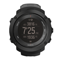 Suunto Ambit3 Vertical Black (HR) Multisport GPS Watches with Heart Rate Monitor (SS021964000)