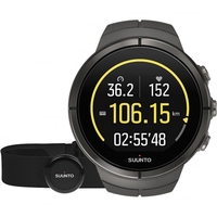 Suunto Spartan Ultra Stealth Titanium (HR) Multisport GPS Watch (SS022656000)