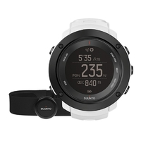 Suunto Ambit3 Vertical White (HR) Multisport GPS Watches with Heart Rate Monitor (SS021966000)