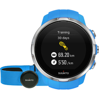 Suunto Spartan Sport Blue (HR) Multisport GPS Watch (SS022652000)