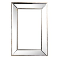 Antique Mirror Wall Art Rectangular 61x4x41cmh