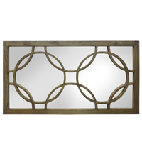 Arc Mirror Natural (Keats alike) 156x83cms