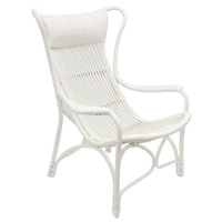 Bahamas Chair White 66cm x 94cm x 102cm