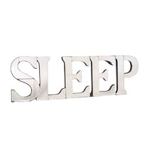 Mirrored Sleep Word Wall Art