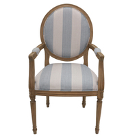 Alba Arm CHAIR Wide Stripe 60x53x104cm